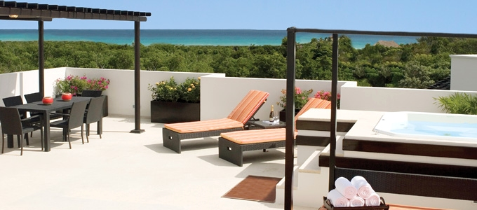 One Bedroom Penthouse Suite From Photo Gallery For Azul Fives Hotel Cancun Mexico Photo