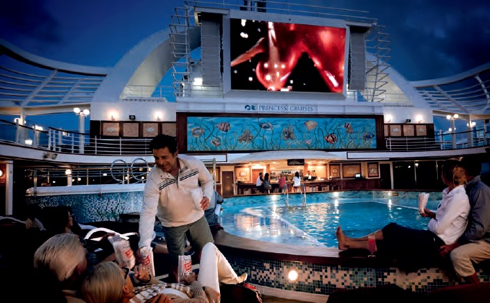 Star Princess Cruise Ships Reviews Pictures Virtual Tours - Cruise ship movie