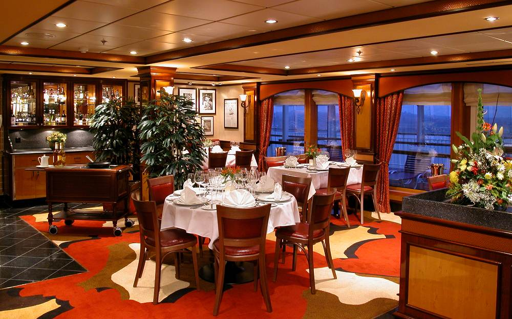 Cagney S Steakhouse From Photo Gallery For Norwegian Dawn