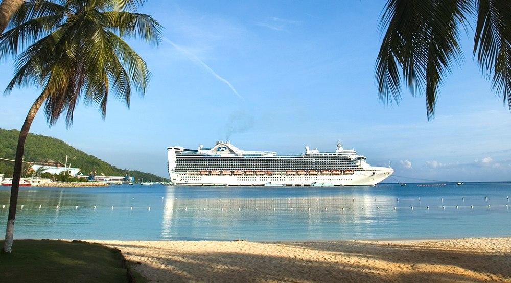 Caribbean Princess Photo Copyright Cruise Lines