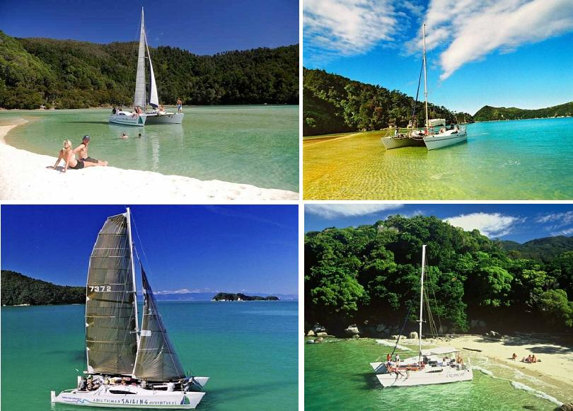 Full Day Sail - Abel Tasman Sailing Adventures.