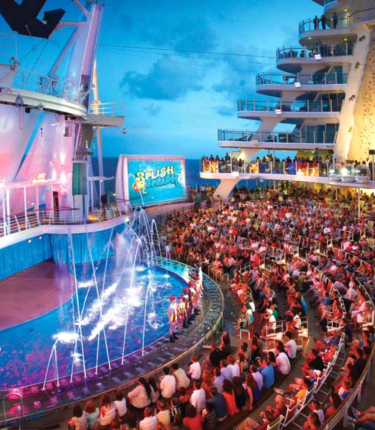 Royal Caribbean S Allure Of The Seas Cruise Ships