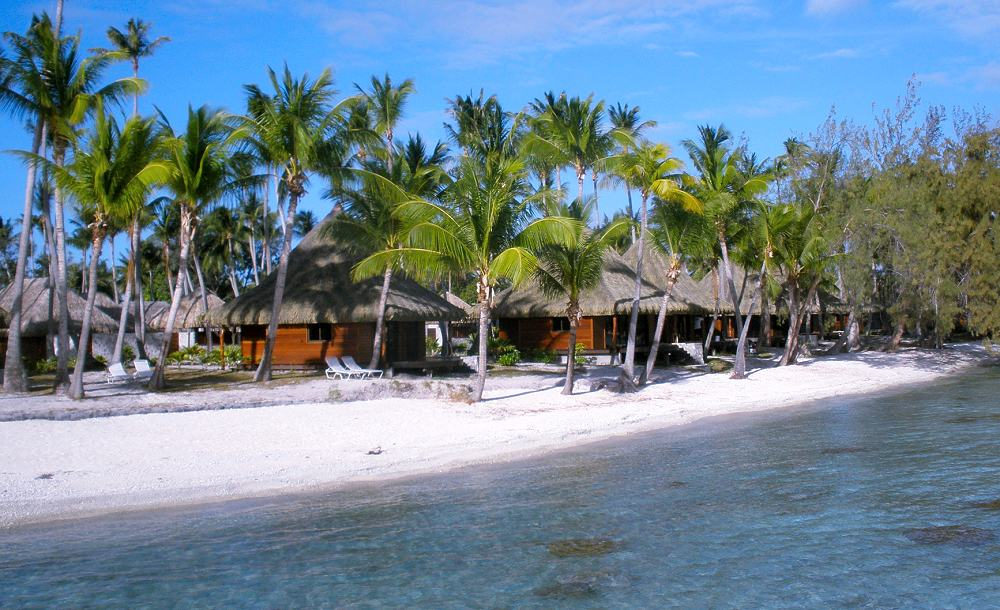 Beach Bungalows With Jacuzzi From Photo Gallery For Hotel Kia Ora