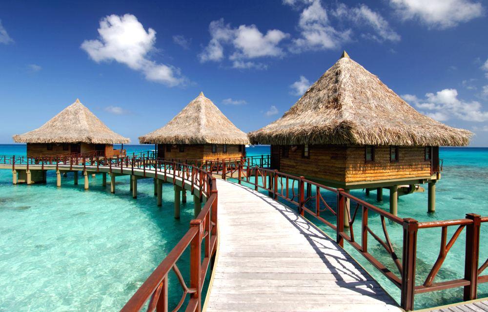 Overwater Bungalow Hotel Kia Ora Resort