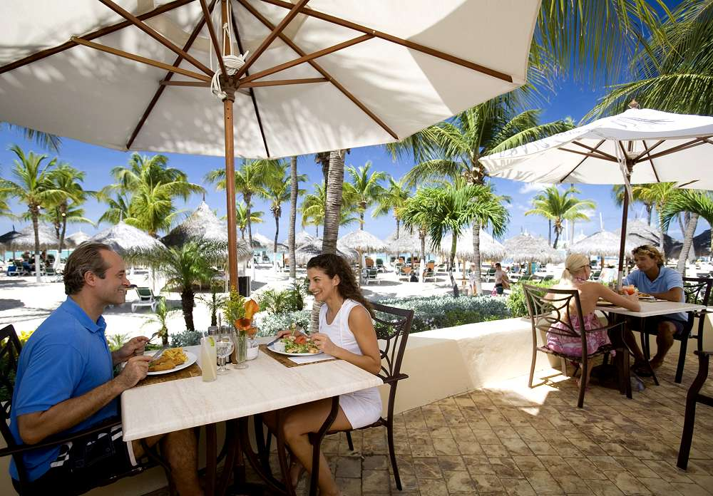 Beach Club Restaurant Occidental Grand Aruba