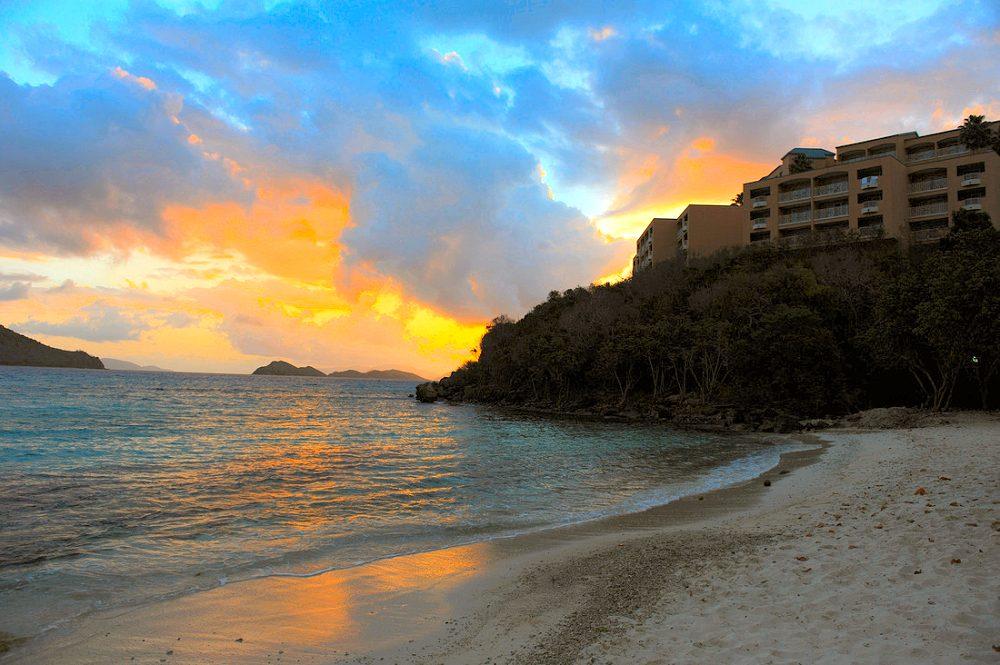 Location Of St Thomas Us Virgin Islands