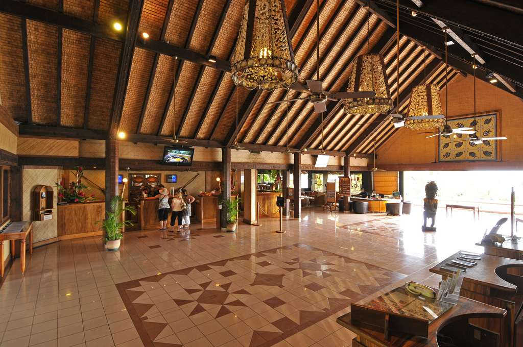 the lobby from photo gallery for intercontinental tahiti