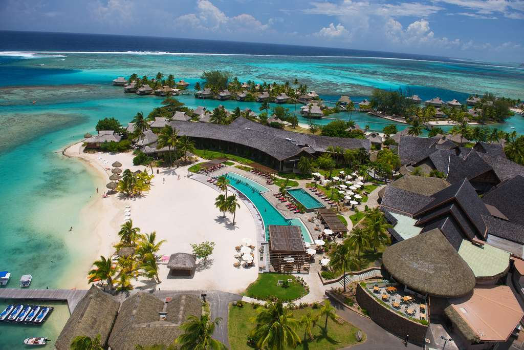Intercontinental Moorea Resort Amp Spa French Polynesia Reviews Pictures Videos Map Visual