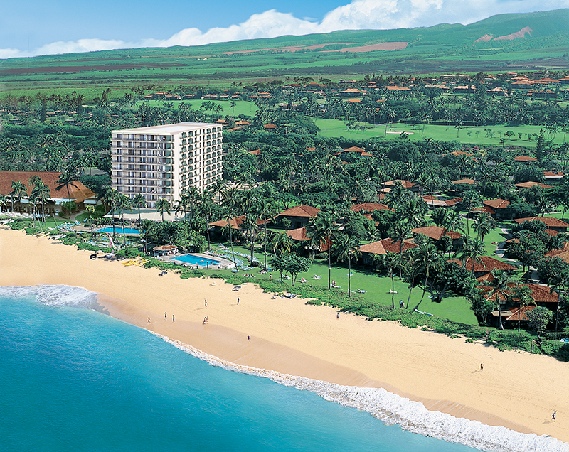 Hotel Location - Royal Lahaina Resort. Copyright Royal Lahaina Resort.