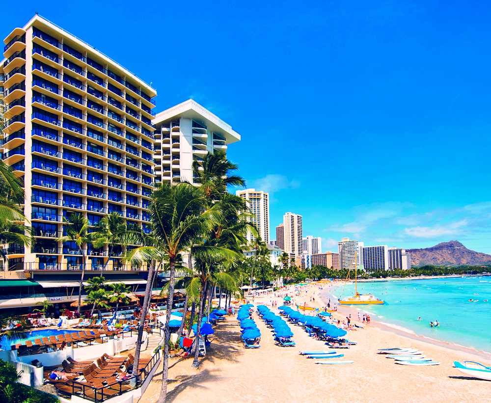 Outrigger Waikiki on the Beach - Outrigger Waikiki on the Beach. Copyright Outrigger Hotels Hawaii.