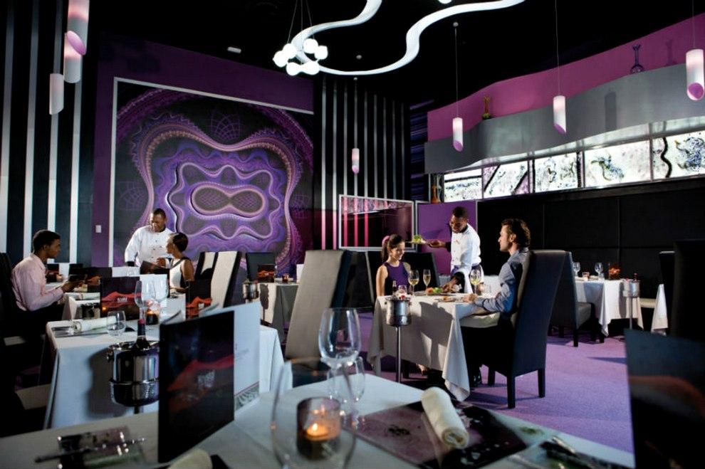 Krystal Fusion Restaurant Menu Bahamas
