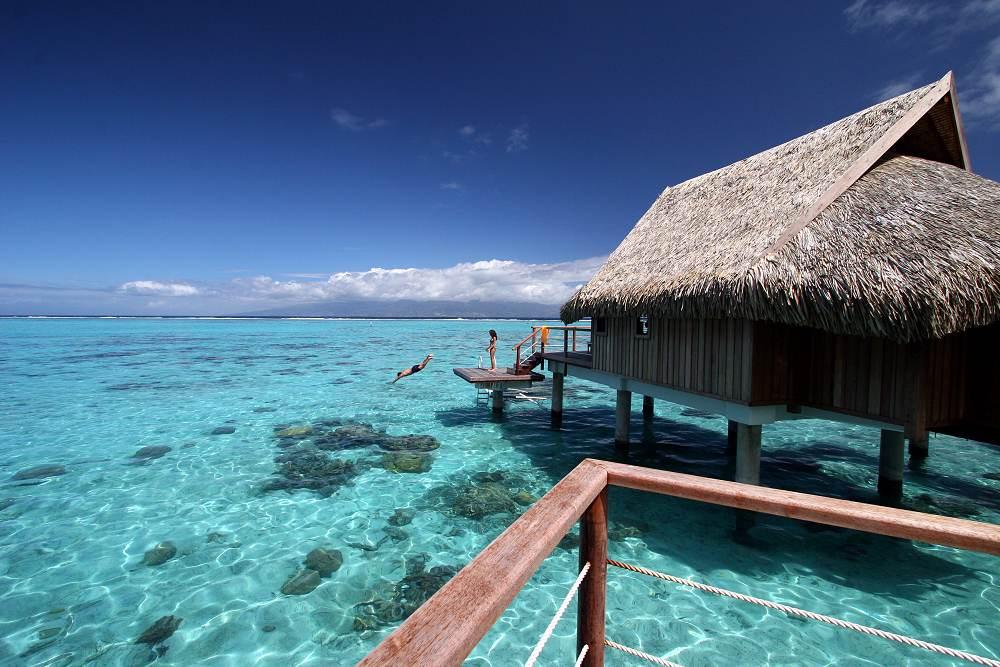 Sofitel moorea ia ora beach resort french polynesia Overwater bungalows fiji