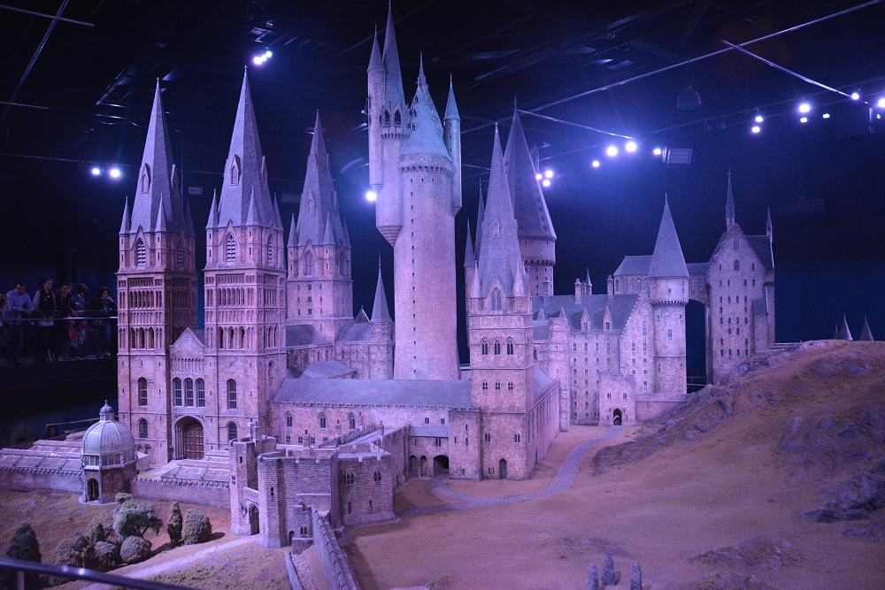 Overview - Harry Potter Tour. Copyright Warner Brothers.
