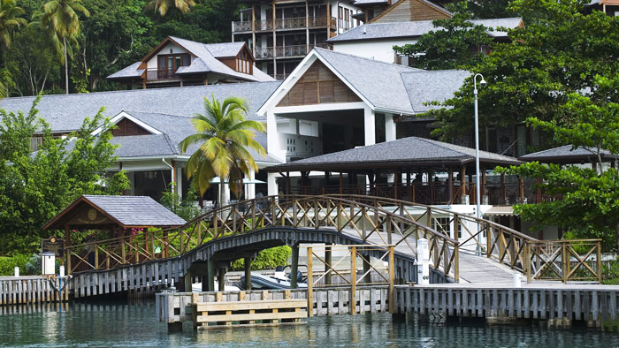 The Hotel - Capella Marigot Bay. Copyright Capella Marigot Bay.