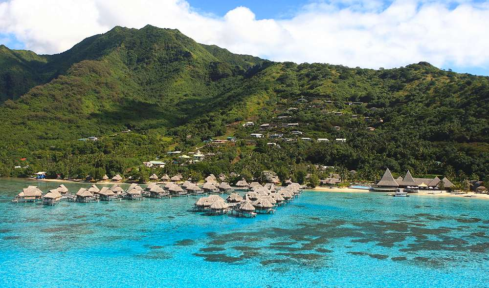 Aerial View of the Resort - Sofitel Kia Ora Moorea Beach Resort. Copyright Sofitel Luxury Hotels.