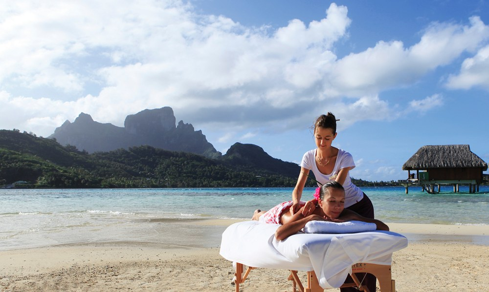 Wellbeing and Spa - Sofitel Bora Bora Private Island.