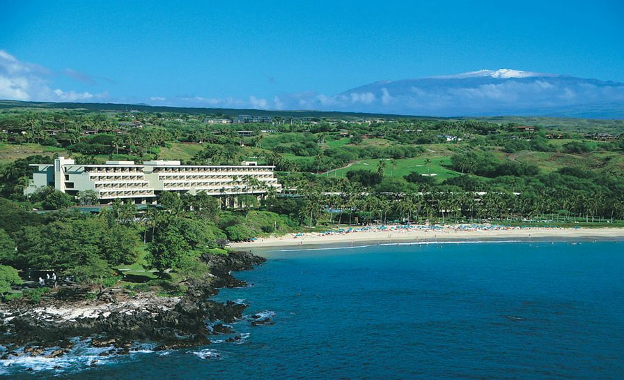 Aerial View Mauna Kea Beach Hotel Photo Copyright