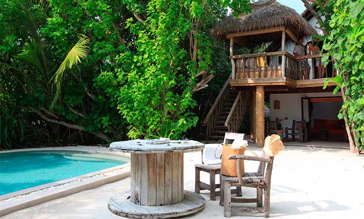 Crusoe Villa with Pool - Soneva Fushi.