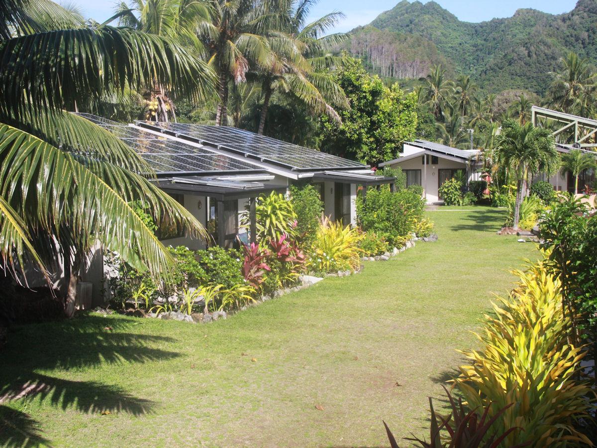 Welcome To Muri Beach Resort Photo Copyright