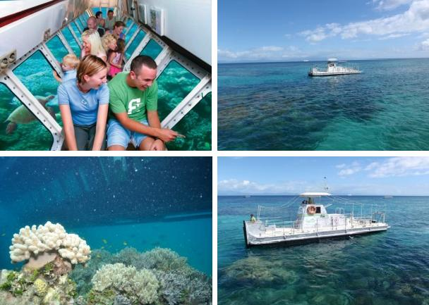 Semi-Submarine - Big Cat Green Island Great Barrier Reef Tours.
