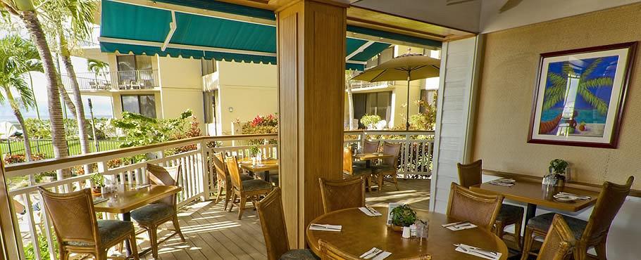 Beach Club Restaurant Bar From Photo Gallery For Aston Kaanapali
