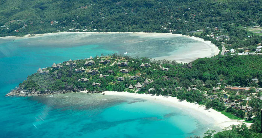 A Bird's Eye View of Maia Resort - Maia Luxury Resort and Spa. Copyright Maia Luxury Resort and Spa.