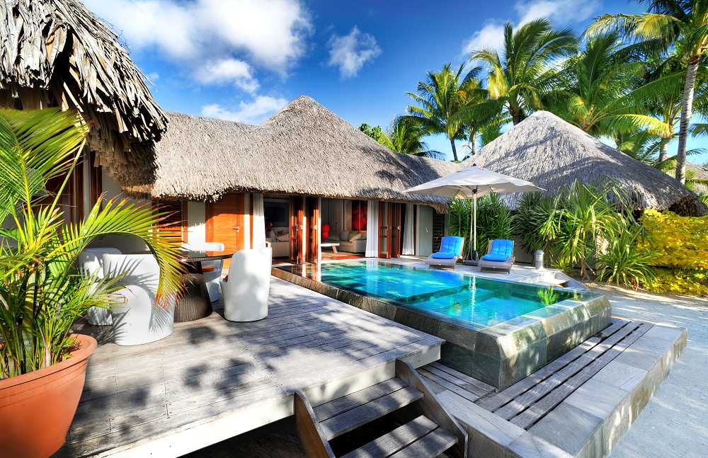 Pool Beach Villa From Photo Gallery For Le Meridien Bora