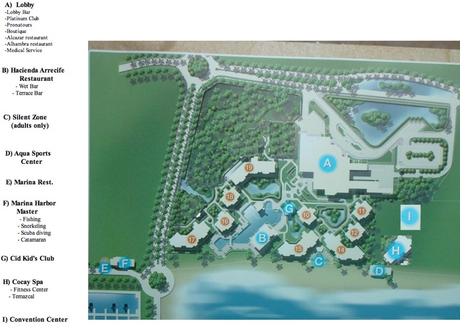 Resort map From Photo Gallery For Hotel Marina El Cid Spa and Beach