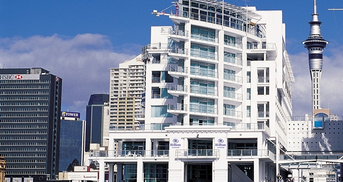 Hilton Hotel Auckland New Zealand Reviews Pictures Map Visual Itineraries