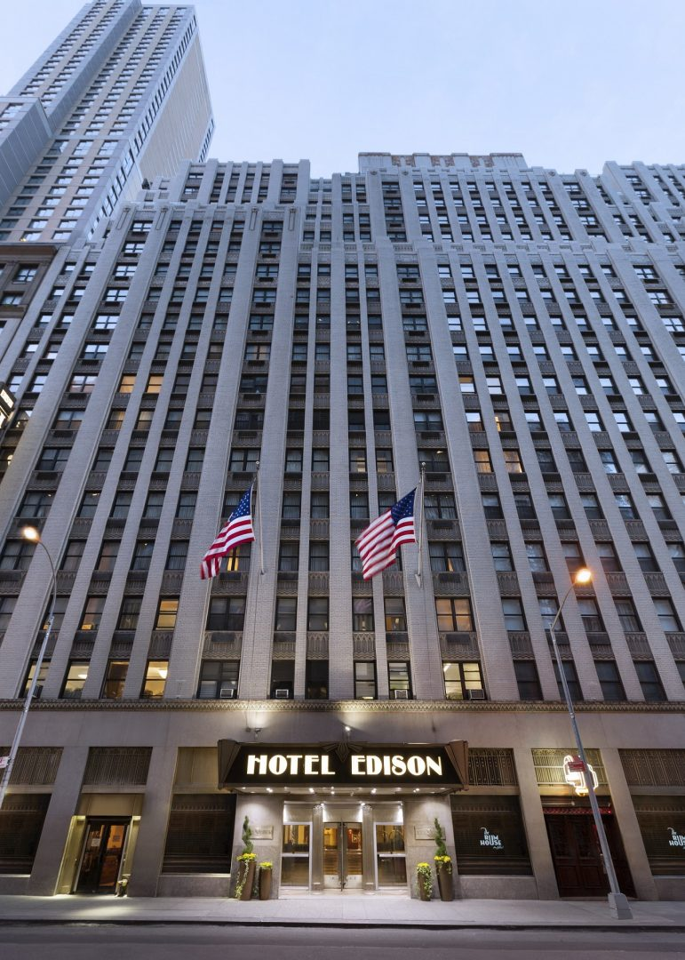Hotel Edison New York To Times Square