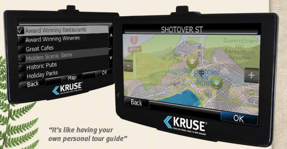 kruse gps travel guide new zealand reviews pictures map rh visualitineraries com garmin gps guide for beginners Trimble GPS Surveying