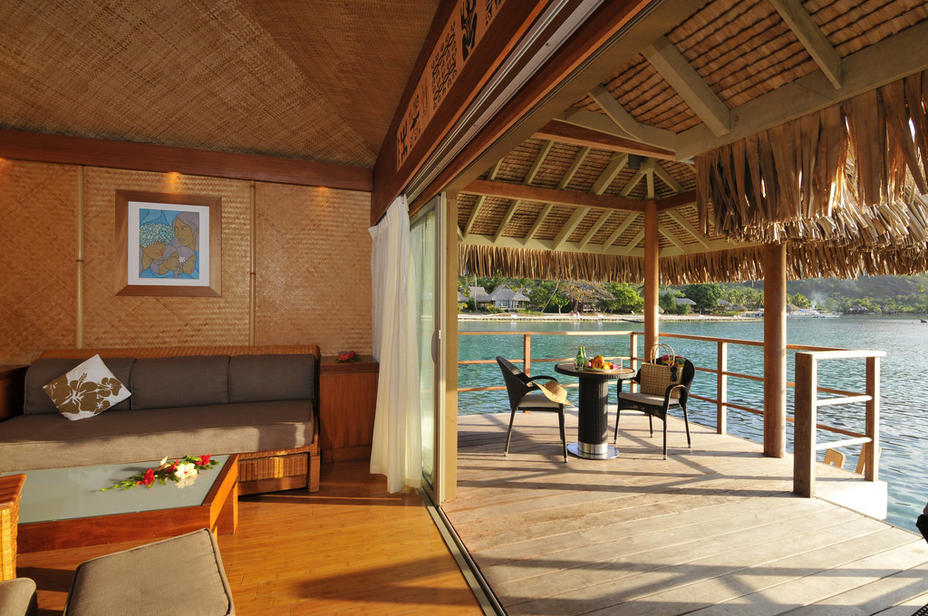 Overwater Bungalow View From Photo Gallery For