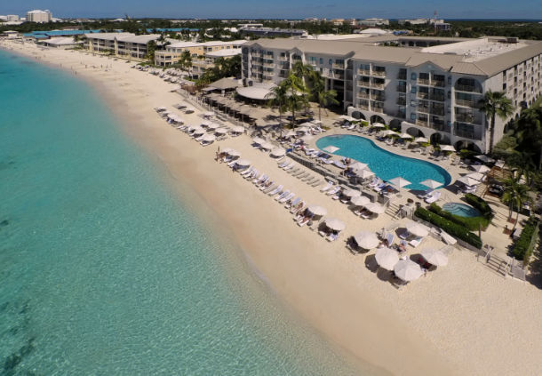 Location - Grand Cayman Marriott Beach Resort. Copyright Grand Cayman Marriott Beach Resort.