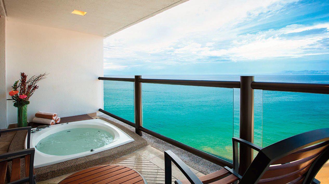 Club Ocean Front Hot Tub King, From Photo Gallery For Hyatt Ziva ...