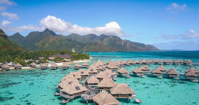 Hilton Moorea Lagoon Resort & Spa - Hilton Moorea Lagoon Resort & Spa. Copyright Michael Cottam.