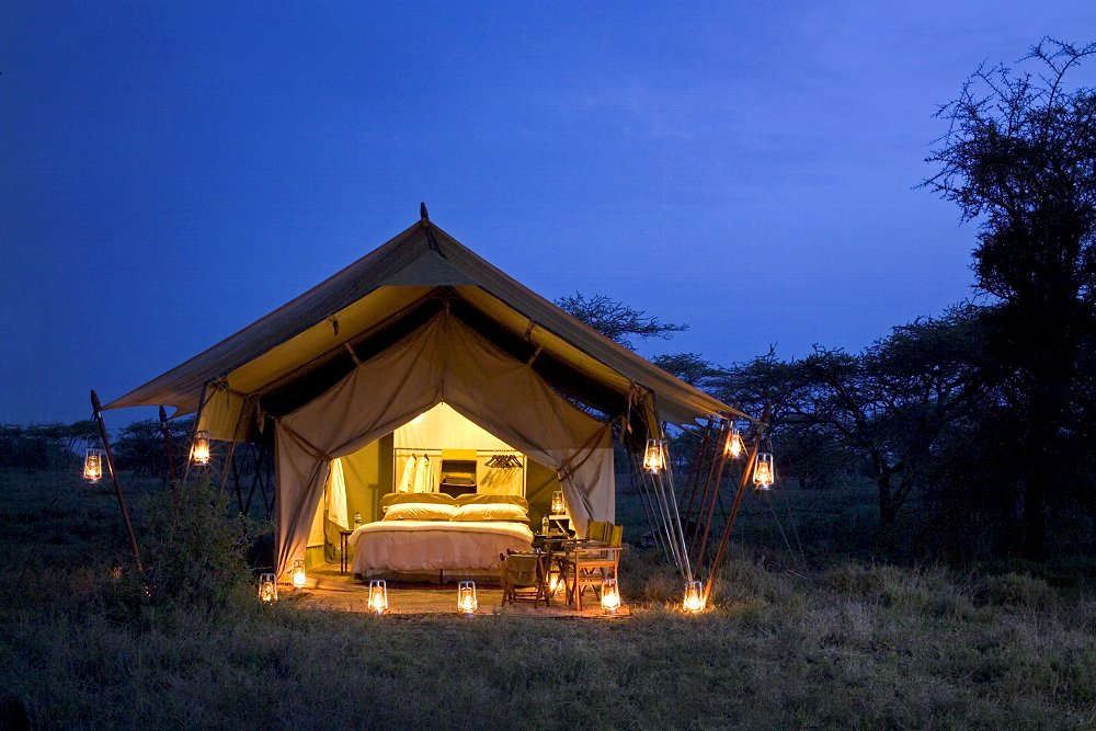 serengeti under canvas tanzania reviews pictures. Black Bedroom Furniture Sets. Home Design Ideas
