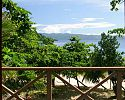 Treetop Bure view from deck - Matangi Private Island Resort