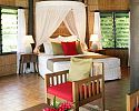Two Bedroom Bure interior - Matangi Private Island Resort