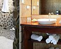 Two Bedroom Bure bathroom - Matangi Private Island Resort