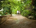 Walking through the resort - Couples Sans Souci