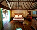 Island Luxury Overwater Bungalow - Interior - Sofitel Bora Bora Private Island