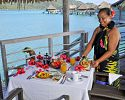 Breakfast in your bungalow - InterContinental Bora Bora Resort & Thalasso Spa