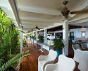 Restaurant and Verandah - Orpheus Island Resort