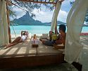 Beach Relaxation - InterContinental Bora Bora Resort & Thalasso Spa
