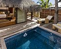Deluxe King Garden Pool Bungalow - Hilton Moorea Lagoon Resort & Spa