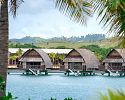 Over-Water Lagoon Bure Villas - Fiji Marriott Resort Momi Bay